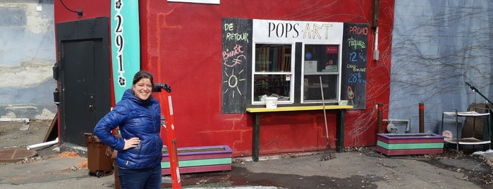 Pops Art is one of Mtl - Crème glacée.