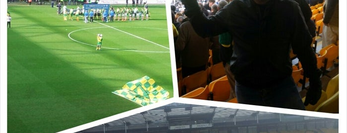 Barclay Stand is one of Norwich City FC Venues.