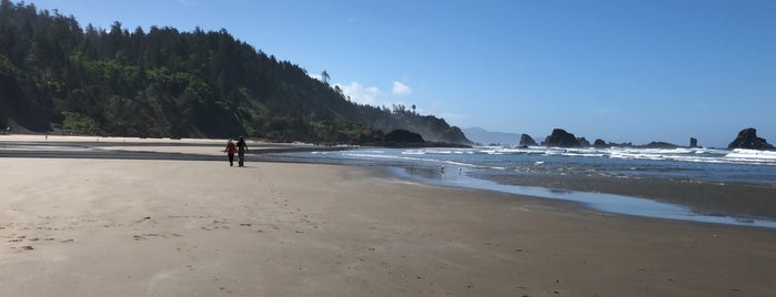 Indian Beach is one of Oregon Coast.