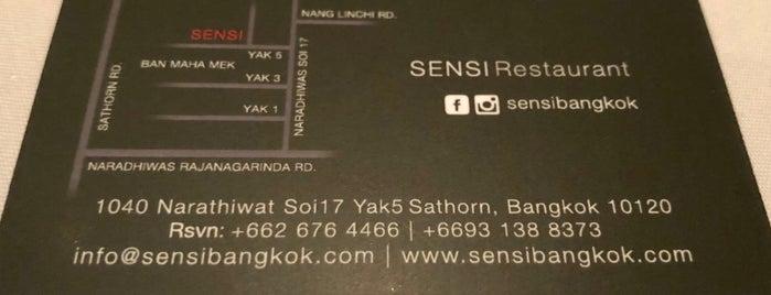 Sensi is one of Wongnai User's Choice 2019 - 1.