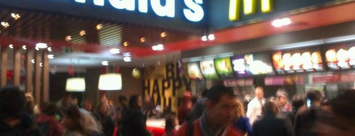 McDonald's is one of Lieux qui ont plu à Çilek.