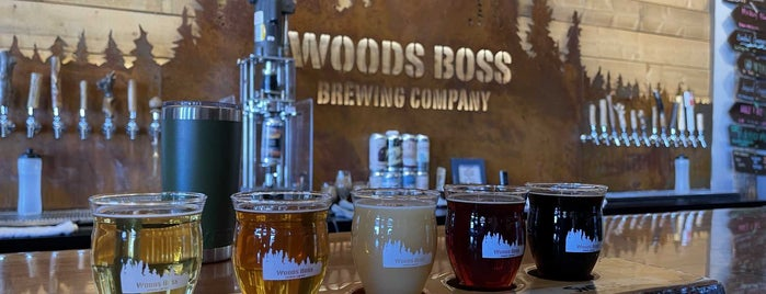 Woods Boss Brewing is one of Tappin the Rockies...