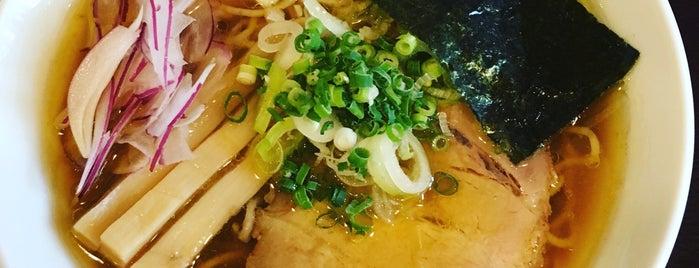 麺奏 神楽 is one of 山本さんのお気に入りスポット.
