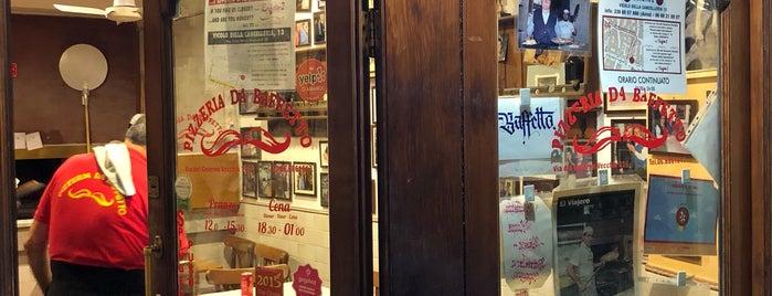 Pizzeria da Bafetto is one of Roma.