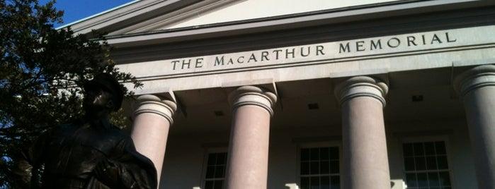 General Douglas MacArthur Memorial Museum is one of Tempat yang Disukai David.