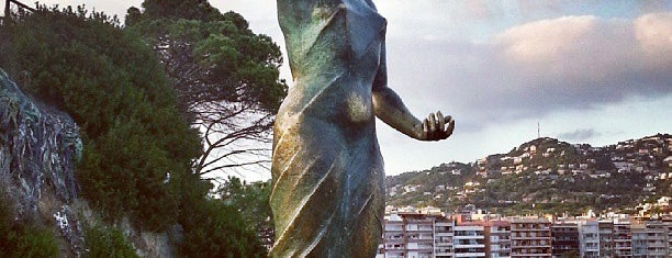 Dona Marinera Statue is one of Lloret De Mar, Girona (August 2016).