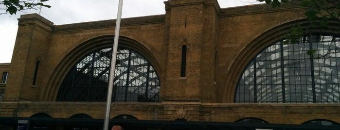 London King's Cross Railway Station (KGX) is one of Мой список великих английских планов.