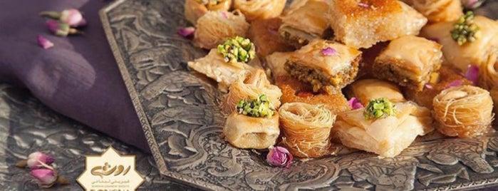 Rosha Lebanese Confectionery is one of สถานที่ที่ Soheil ถูกใจ.