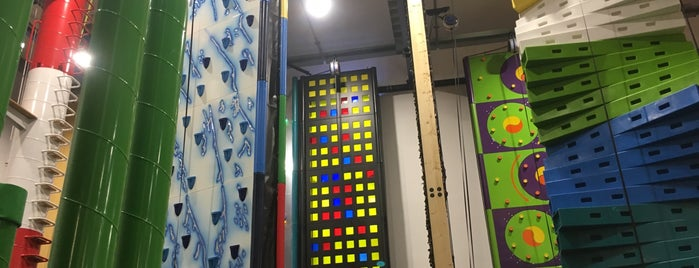 clip 'n climb is one of Orte, die Pierre gefallen.
