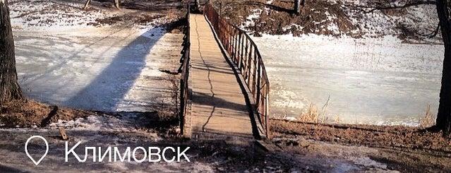 Мост через р. Петрица is one of Западный Климовск.