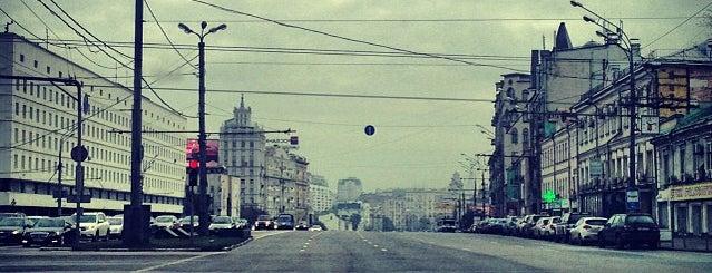 Садовая-Каретная улица is one of Lieux qui ont plu à Артем.