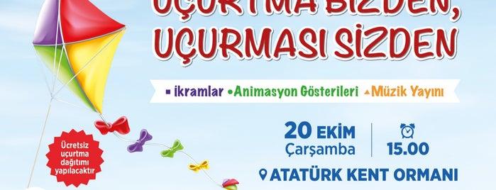 Atatürk Kent Ormanı is one of Listem.