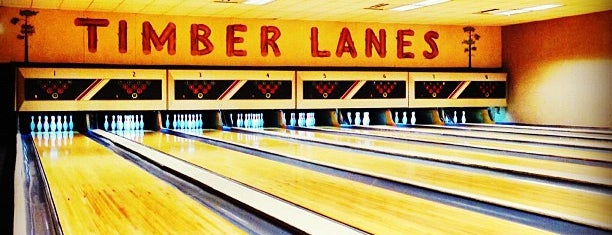 Timber Lanes is one of Visited Bars 2.