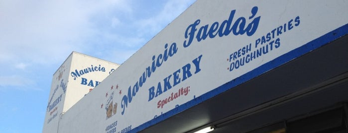 Mauricio Faedo's Bakery is one of Tampa.