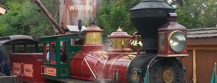 Walt Disney World Railroad - Fantasyland Station is one of Lindsaye'nin Beğendiği Mekanlar.