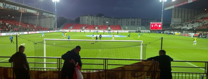 Stade Francis Le Blé is one of Football Arenas in Europe.