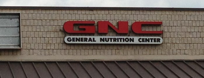 GNC is one of Locais salvos de Joshua.