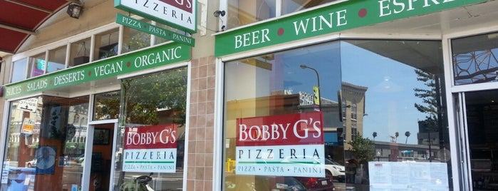 Bobby G's Pizzeria is one of Gluten free places to try.