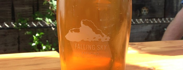 Falling Sky Brewing is one of EUG.