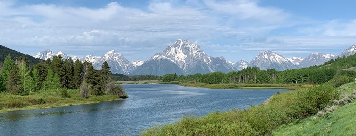Oxbow Bend is one of While in the GYE.