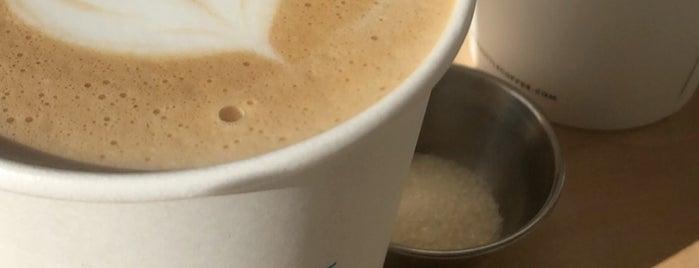 Blue Bottle Coffee is one of LA Favorites.