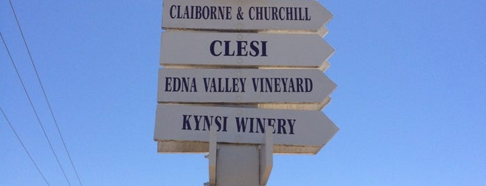 Edna Valley Vineyard is one of SLO Wine Country.