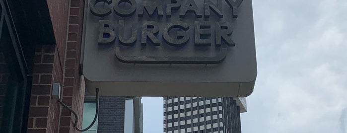 The Company Burger is one of New Orleans.