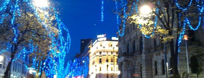 Gran Vía is one of Lugares favoritos de Mikel.