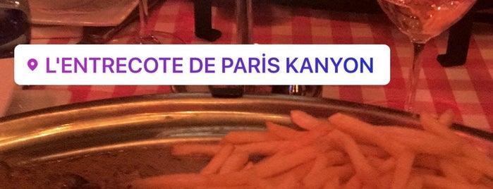 L'entrecote De Paris Kanyon is one of mersolu.