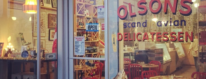 Olsons Scandinavian Delicatessen is one of Tempat yang Disimpan Whit.