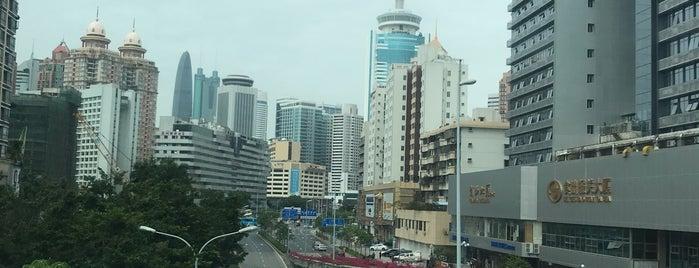 Shenzhen is one of Tempat yang Disukai Ty.