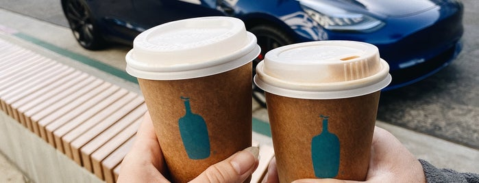 Blue Bottle Coffee is one of LA Food&Coffee.