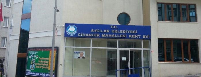 Cihangir Avcılar Kent Evi is one of Cesim'in Beğendiği Mekanlar.