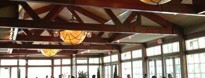 The Loeb Boathouse is one of Swanky.