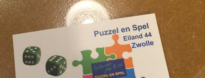 Puzzel en Spel is one of Zwolle.
