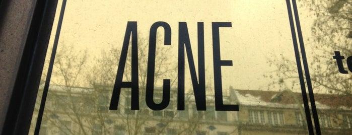 ACNE Berlin is one of Berlin.