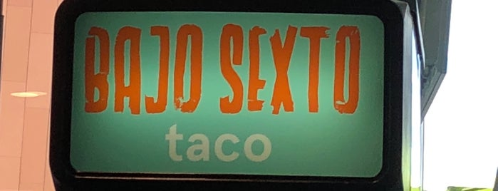 Bajo Sexto Taco is one of Nashville.