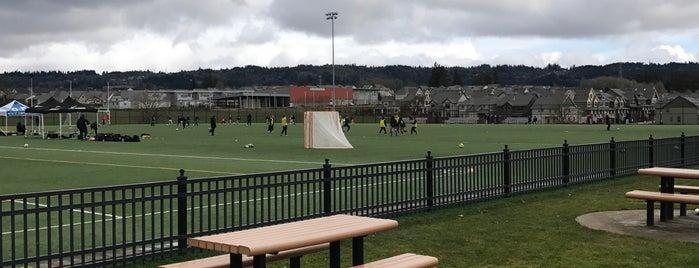 PCC Rock Creek Soccer Fields is one of Rosana 님이 좋아한 장소.