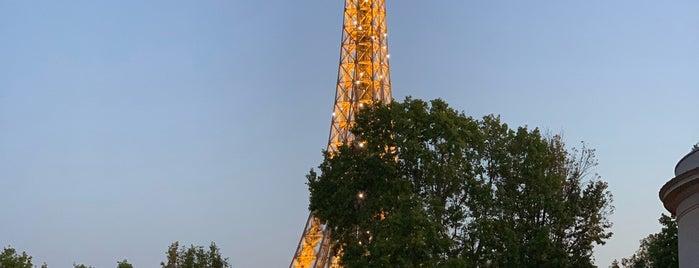 Terrasse du Palais de Tokyo is one of Restaurant Views of Eiffel Tower for Dominique.