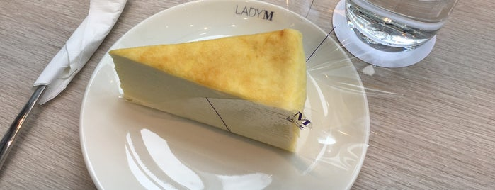 Lady M is one of Nolfo Taiwan Foodie Spots.