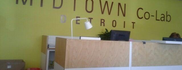 Midtown Co-Lab is one of Midtown Detroit.