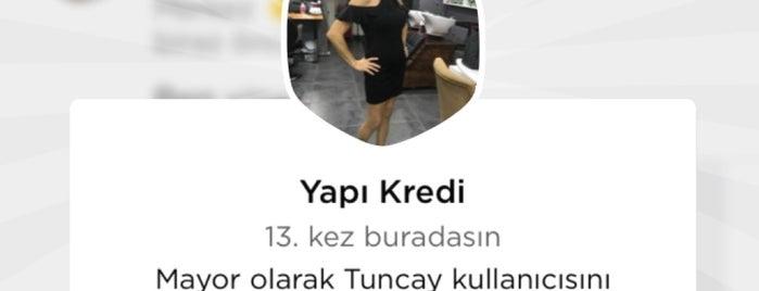 Yapı Kredi is one of My favorites for Bankalar.