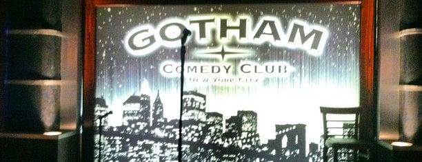 Gotham Comedy Club is one of Manhattan Favorites.