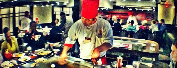 Benihana is one of All The Places I Can Think of That I've been.