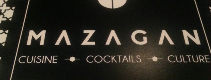 Mazagan is one of DC Restaurants.