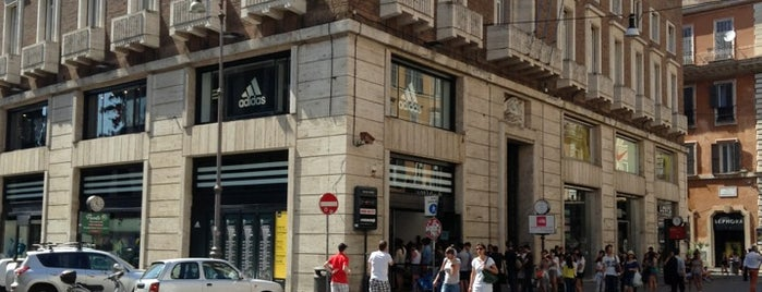 Adidas Store Rome is one of Andrew 님이 저장한 장소.