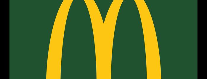 McDonald's is one of willou : понравившиеся места.