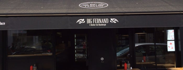 Big Fernand Issy is one of Lieux qui ont plu à Hector.