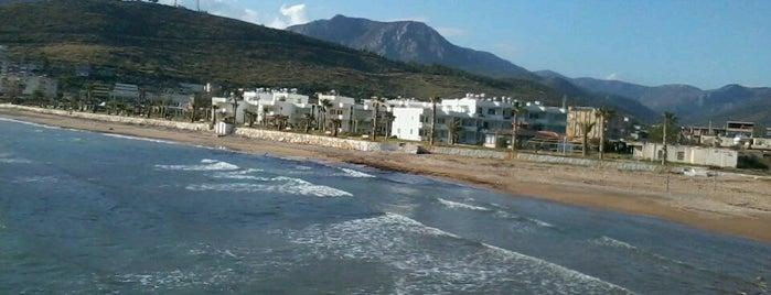 Aydıncık Plajı is one of şahinさんの保存済みスポット.