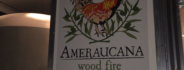 Ameraucana Wood Fire is one of G A I N E S V I L L E.